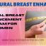 Natural Breast Enhancement Cream For Women